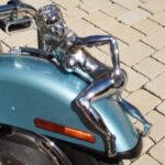 Motorhauben-Ornament, verchromt