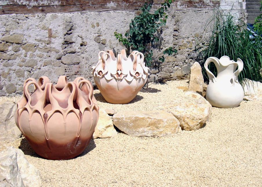 Terracotta Amphoren