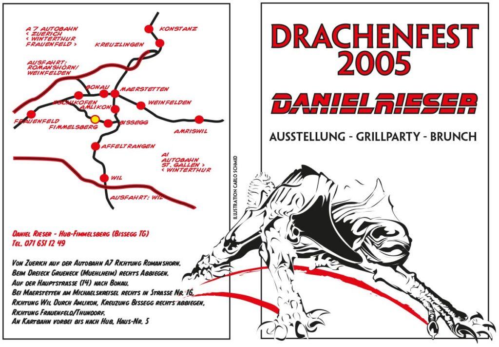 Drachenfest-Flyer 2005
